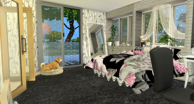 Laurie girly bedroom at Pandasht Productions image 5121 Sims 4 Updates
