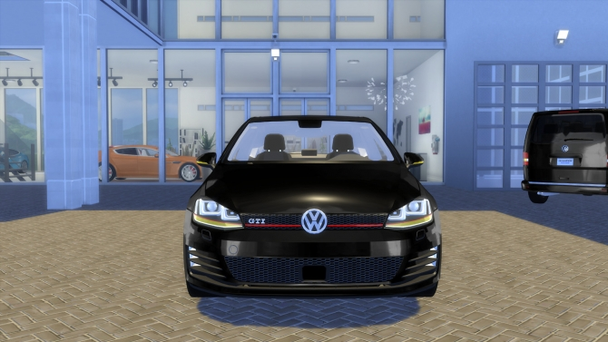 Vw Golf 7 Gti 2013 At Oceanrazr 187 Sims 4 Updates