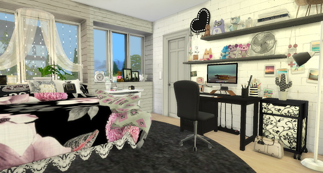 Laurie girly bedroom at Pandasht Productions image 5219 Sims 4 Updates