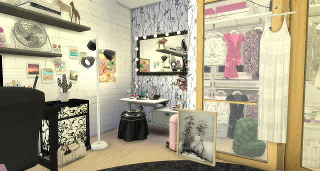 Laurie girly bedroom at Pandasht Productions image 5317 Sims 4 Updates
