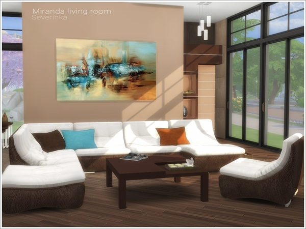 Miranda living room by Severinka at TSR image 540 Sims 4 Updates