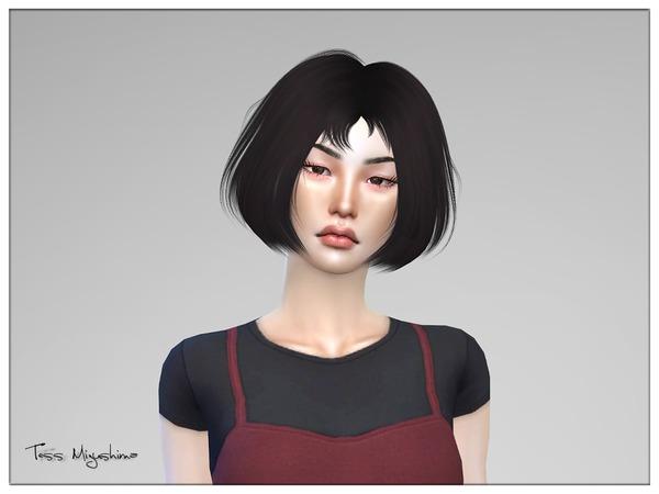 Sims 4 Tess Mizushima by Torque at TSR