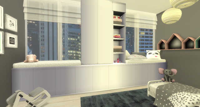 Sims 4 Molly toddler bedroom by Rissy Rawr at Pandasht Productions