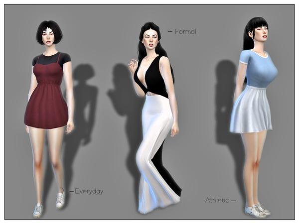 Tess Mizushima by Torque at TSR image 558 Sims 4 Updates