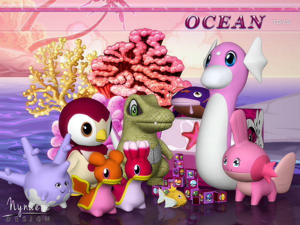 Ocean Toys by NynaeveDesign at TSR image 560 Sims 4 Updates