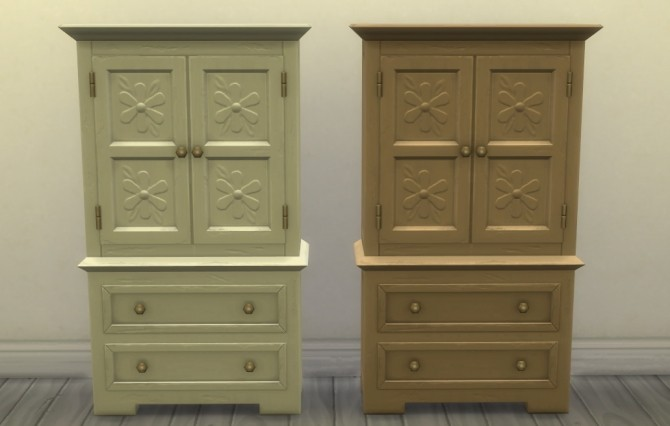 Profit & Postrophes Dresser by athenasims4 at Mod The Sims image 564 670x426 Sims 4 Updates