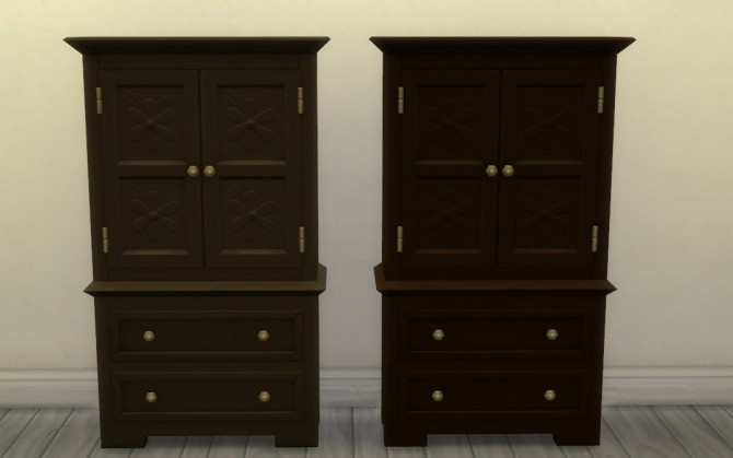 Profit & Postrophes Dresser by athenasims4 at Mod The Sims image 574 670x419 Sims 4 Updates