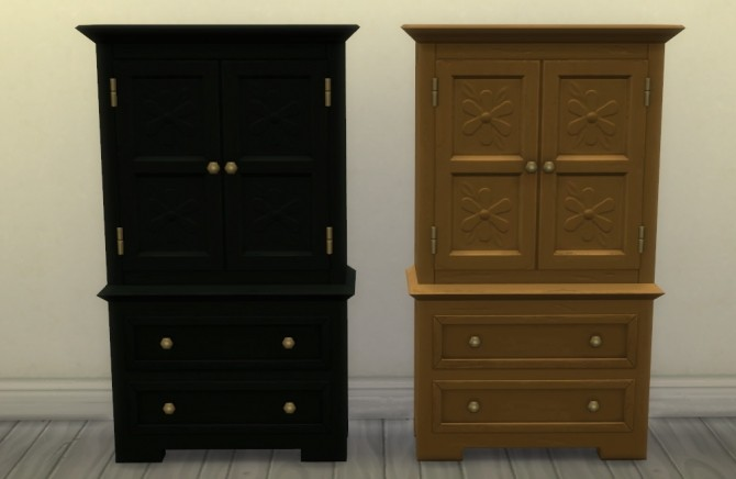 Profit & Postrophes Dresser by athenasims4 at Mod The Sims image 584 670x436 Sims 4 Updates