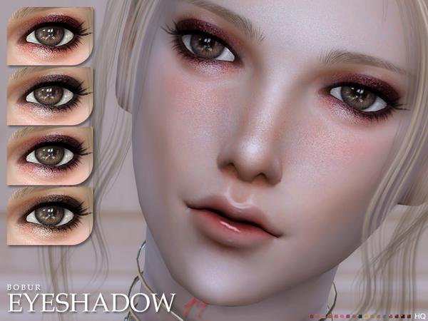Sims 4 Eyeshadow 14 by Bobur3 at TSR