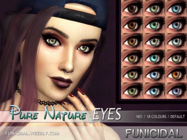 Pure Nature Eyes by Funicidal at TSR image 6113 Sims 4 Updates