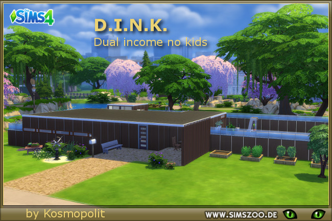 DINK house by Kosmopolit at Blacky's Sims Zoo image 6117 Sims 4 Updates