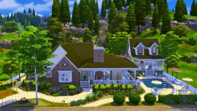 Traditional Family Home at Homeless Sims image 617 670x377 Sims 4 Updates