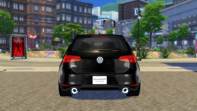 VW Golf 7 GTI 2013 at OceanRAZR image 618 670x377 Sims 4 Updates