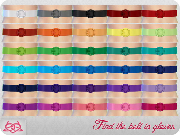Belt 2 by Colores Urbanos at TSR image 62 Sims 4 Updates