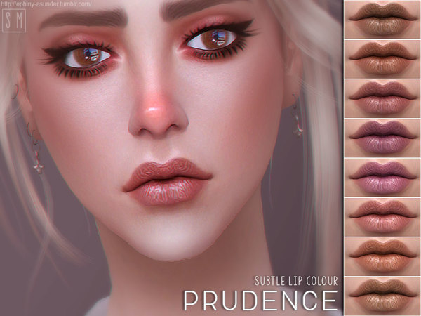 Prudence Subtle Lip Colour by Screaming Mustard at TSR image 629 Sims 4 Updates