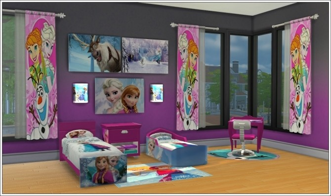 Kids Room Joyce Frozen at Louisa Creations4Sims image 6312 670x397 Sims 4 Updates