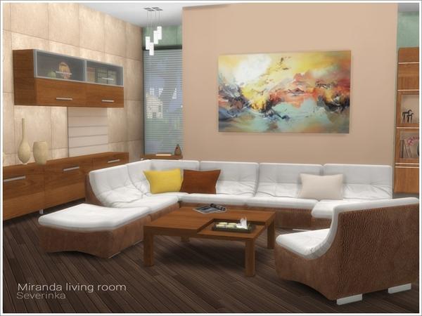 Miranda living room by Severinka at TSR image 639 Sims 4 Updates