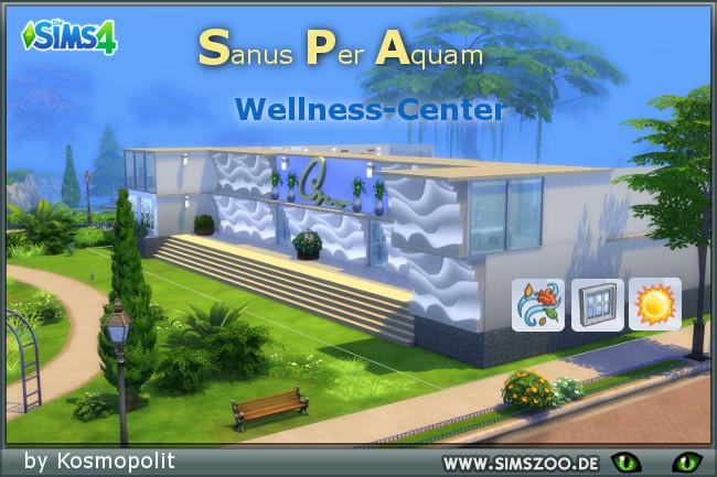 Sanus Per Aquam wellness center by Kosmopolit at Blacky's Sims Zoo image 6513 Sims 4 Updates