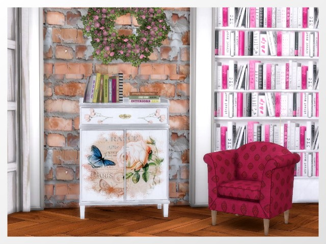 Sims 4 Sideboard by Oldbox at All 4 Sims