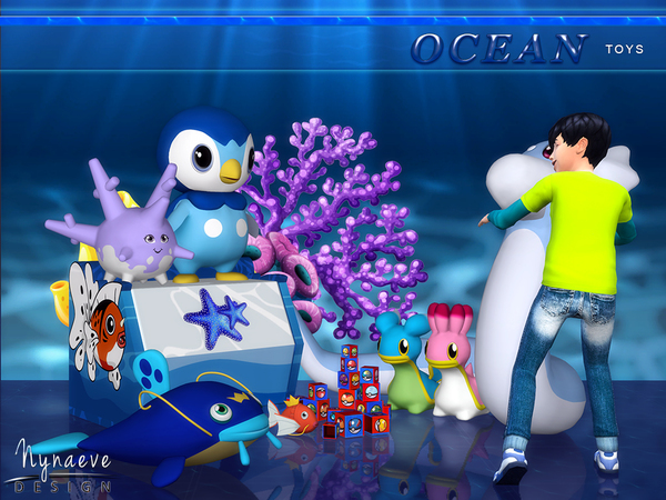 Ocean Toys by NynaeveDesign at TSR image 660 Sims 4 Updates