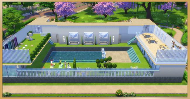 Sanus Per Aquam wellness center by Kosmopolit at Blacky's Sims Zoo image 6613 Sims 4 Updates