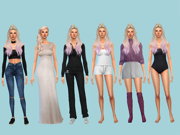 Sarah Burke by martinakerr at TSR image 681 Sims 4 Updates