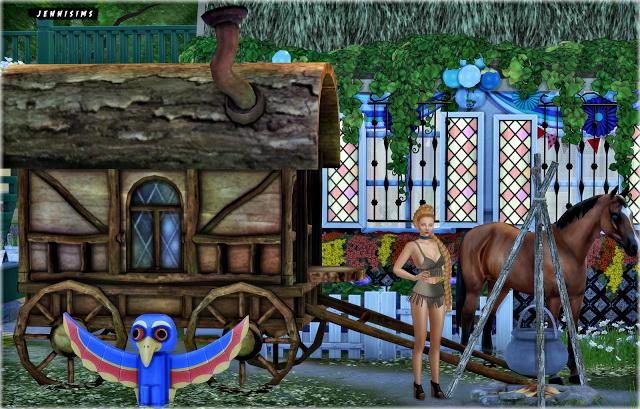 Sims 4 Set Vol 65 Decoratives Bo Ho 6 Items at Jenni Sims