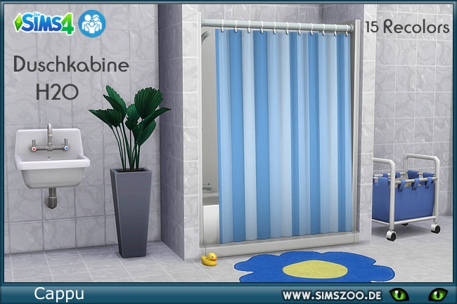 Shower cabine H2O by Cappu at Blacky's Sims Zoo image 6912 Sims 4 Updates