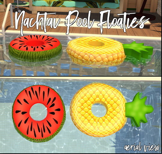Sims 4 Pool Floaties by Sympxls at SimsWorkshop