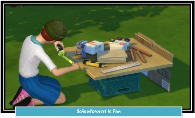 Schoolproject is Fun by LittleMsSam image 698 670x407 Sims 4 Updates