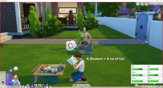 Sims 4 Schoolproject is Fun by LittleMsSam