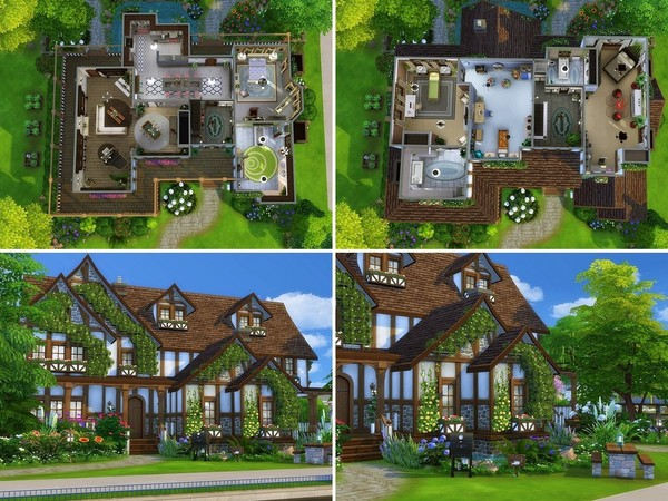 Sims 4 Medieval Fortress by MychQQQ at TSR