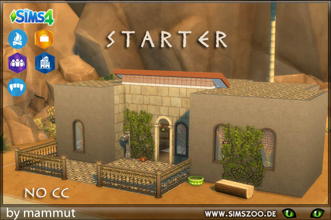 Sims 4 Starter EarlyCiv by mammut at Blacky's Sims Zoo