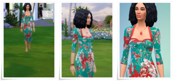 Sims 4 Fancy Dress at Birksches Sims Blog