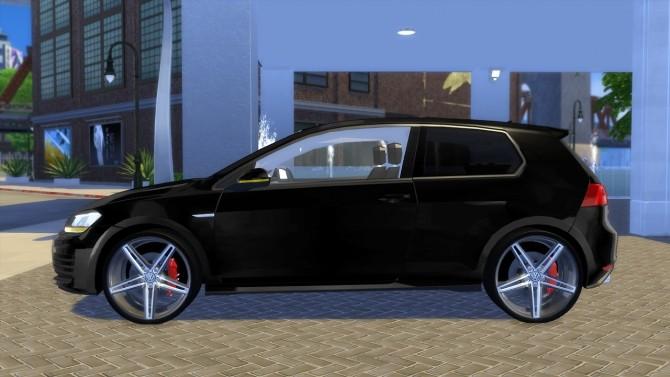 VW Golf 7 GTI 2013 at OceanRAZR image 718 670x377 Sims 4 Updates