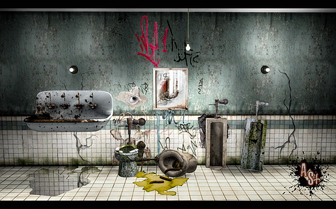 BW Old Bathroom Set (New Meshes) & 3T4 Cyclonesue Barebulb Set at Abandoned Sims image 738 Sims 4 Updates