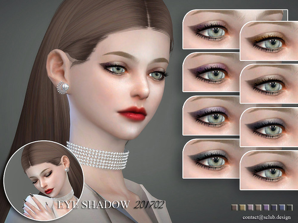 Eyeshadow 201702 by S Club LL at TSR image 7418 Sims 4 Updates