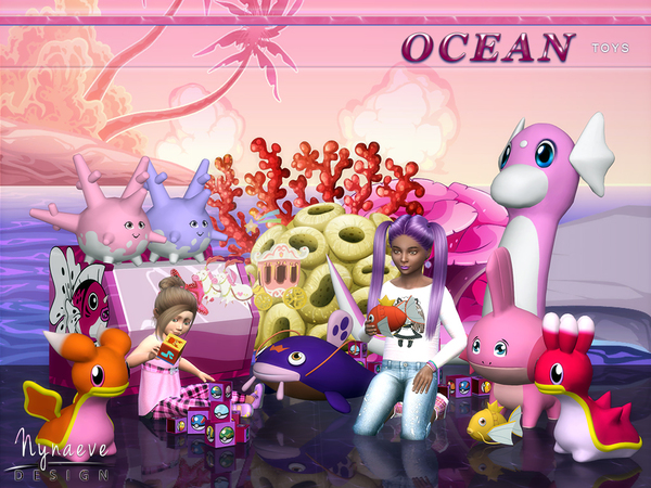 Ocean Toys by NynaeveDesign at TSR image 750 Sims 4 Updates