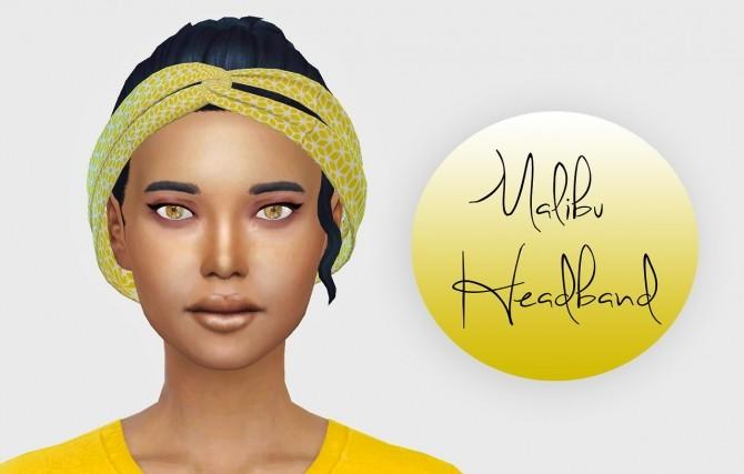 Sims 4 LeahLillith Malibu Headband Separated at Simiracle