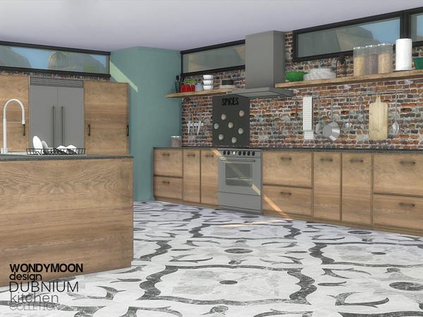 Dubnium Kitchen by wondymoon at TSR image 770 Sims 4 Updates