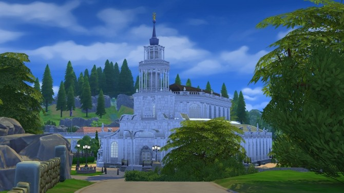 The Cathedral of the Holy Trinity Dresden by Glouryian at Mod The Sims image 777 670x377 Sims 4 Updates