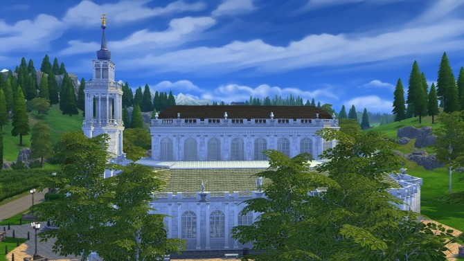 The Cathedral of the Holy Trinity Dresden by Glouryian at Mod The Sims image 788 670x377 Sims 4 Updates