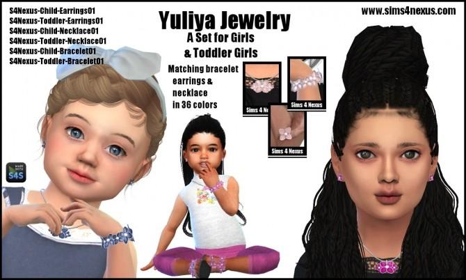 Sims 4 Yuliya Jewelry by SamanthaGump at Sims 4 Nexus
