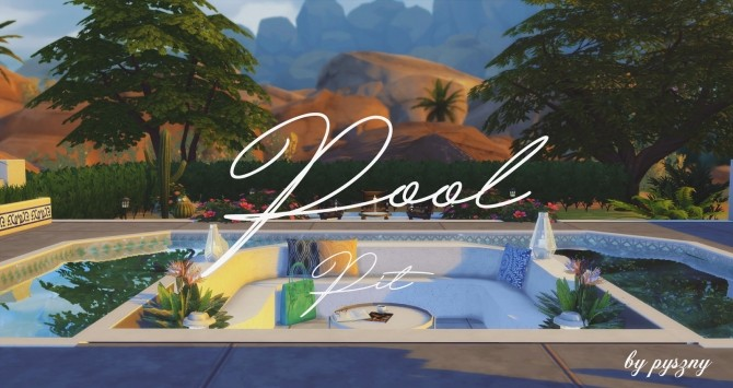 Sims 4 furniture downloads sims 4 updates page 7 of 496 for Pool design sims 4