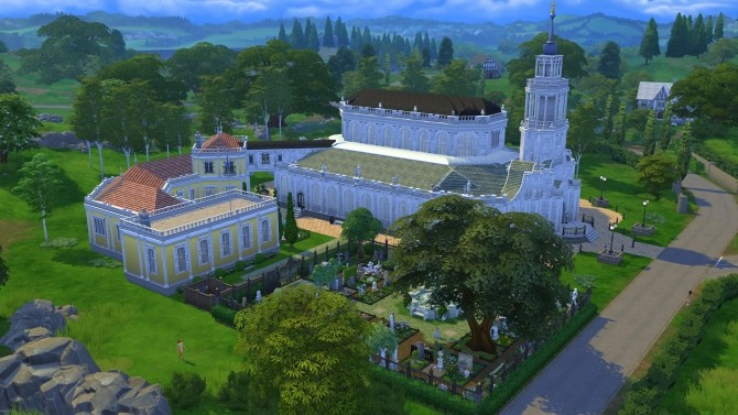 The Cathedral of the Holy Trinity Dresden by Glouryian at Mod The Sims image 807 670x377 Sims 4 Updates
