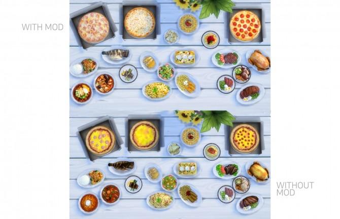 Sims 4 Food Texture Overhaul by yakfarm at Mod The Sims