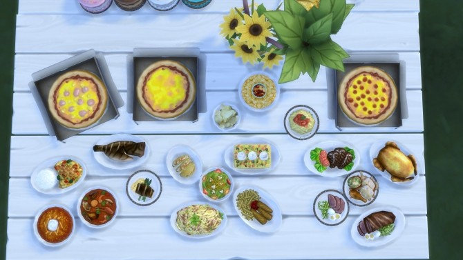 Food Texture Overhaul By Yakfarm At Mod The Sims Sims 4 Updates