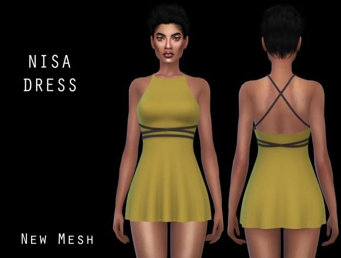 Nisa Dress at Leo Sims image 8116 670x506 Sims 4 Updates