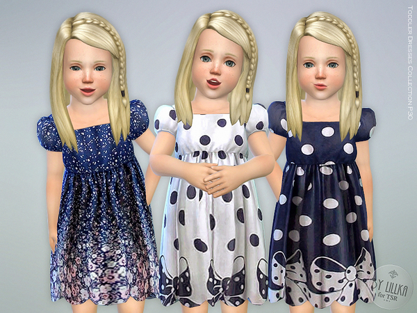 Sims 4 Toddler Dresses Collection P30 by lillka at TSR