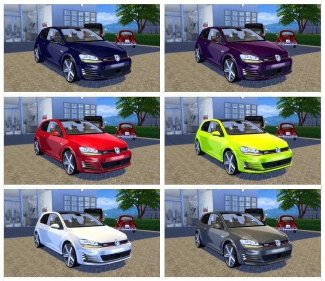 VW Golf 7 GTI 2013 at OceanRAZR image 817 670x579 Sims 4 Updates